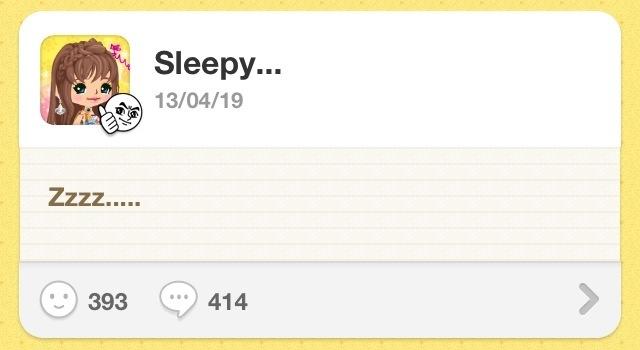 【BOM's Diary #10】Sleepy…